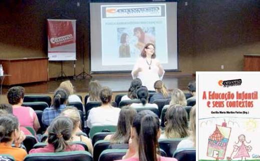 Palestras proporcionam o debate e subsídios sobre metodologias em sala de aula