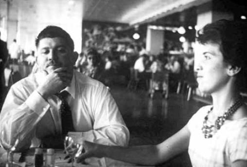 Rubens Paiva e a esposa, Eunice, em Brasília, em 1960