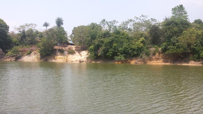Aldeia Sawré Jaybu, da etnia munduruku, será parcialmente alagada pela usina