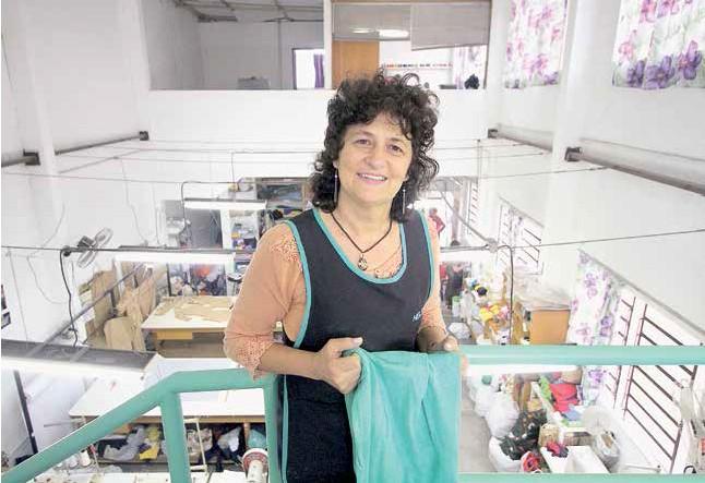 Nelsa Nespolo, coordenadora da cooperativa, defende que produtos ecológicos devem ser competitivos