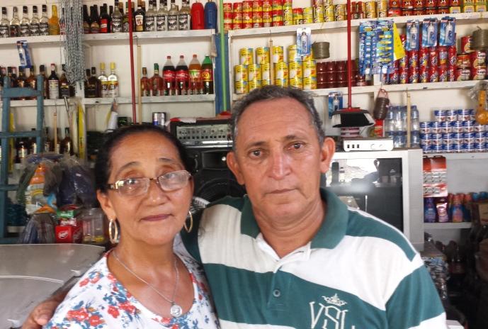 Socorro Amorim e o marido: ameaçados pelo projeto