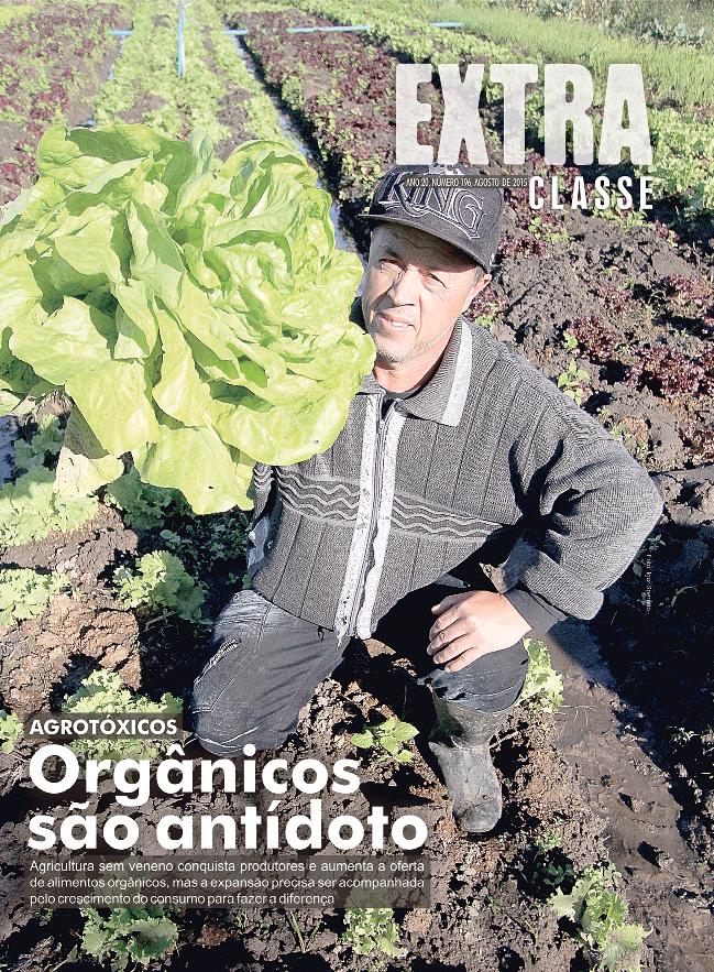Capa da edição de Agosto, que traz em destaque a reportagem premiada