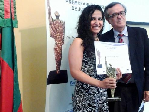 Priscila Pasko recebeu primeiro lugar na categoria Jornalismo Cultural