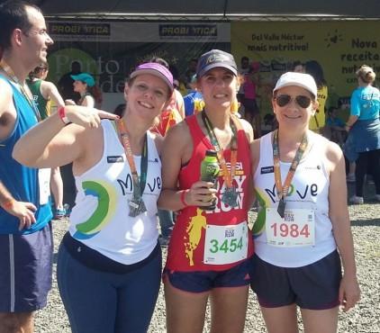 Professoras participam de maratonas