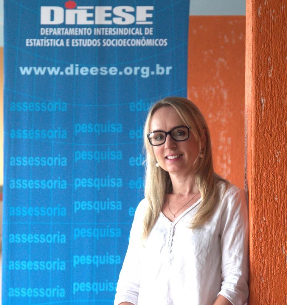 Daniela Sandi, do Dieese: lógica rentista nega direitos sociais