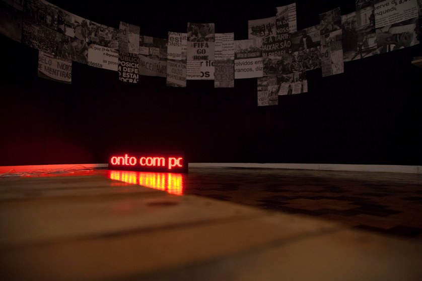 Exposição inaugurada em 2015 reuniu obras de mais de 40 artistas
