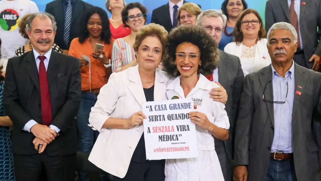 """""""Este não será o país do ódio"""", diz Dilma"""