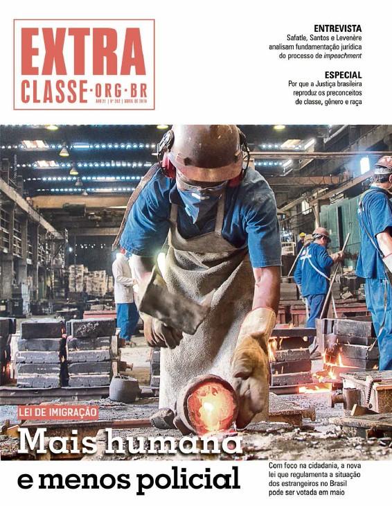 Jornal Extra Classe Nº 202 | Ano 21 | Abr 2016