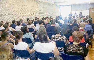 Assembleia Geral avaliou as negociações salariais com o Sinepe/RS