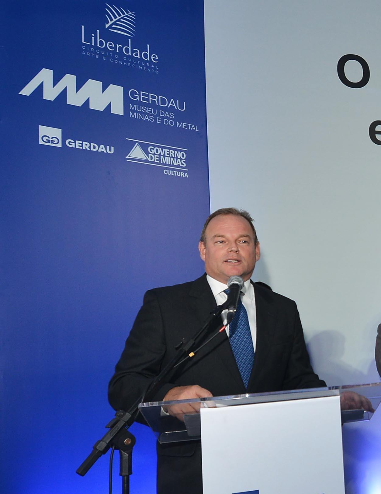 O diretor-presidente da empresa, André Gerdau