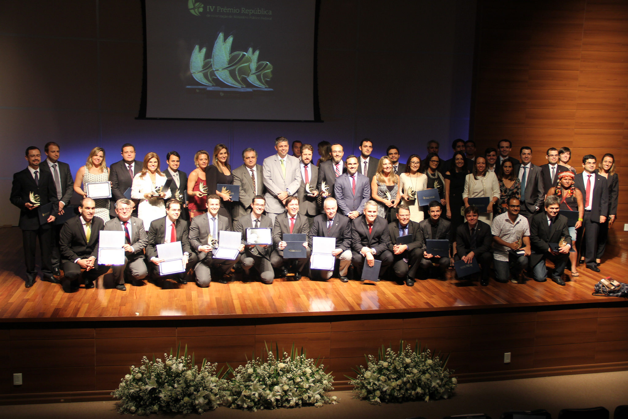 Cerimônia de premiação ocorreu no dia 11 de maio, em Brasília