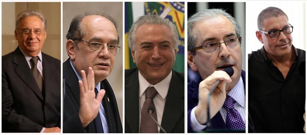 FH, Gilmar Mendes, Alexandre Frota e a turma da objetividade científica