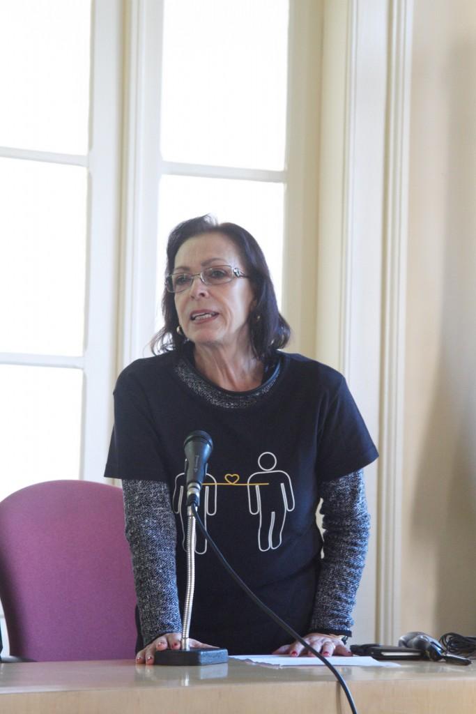 Lucia Elbern, da ONG ViaVida