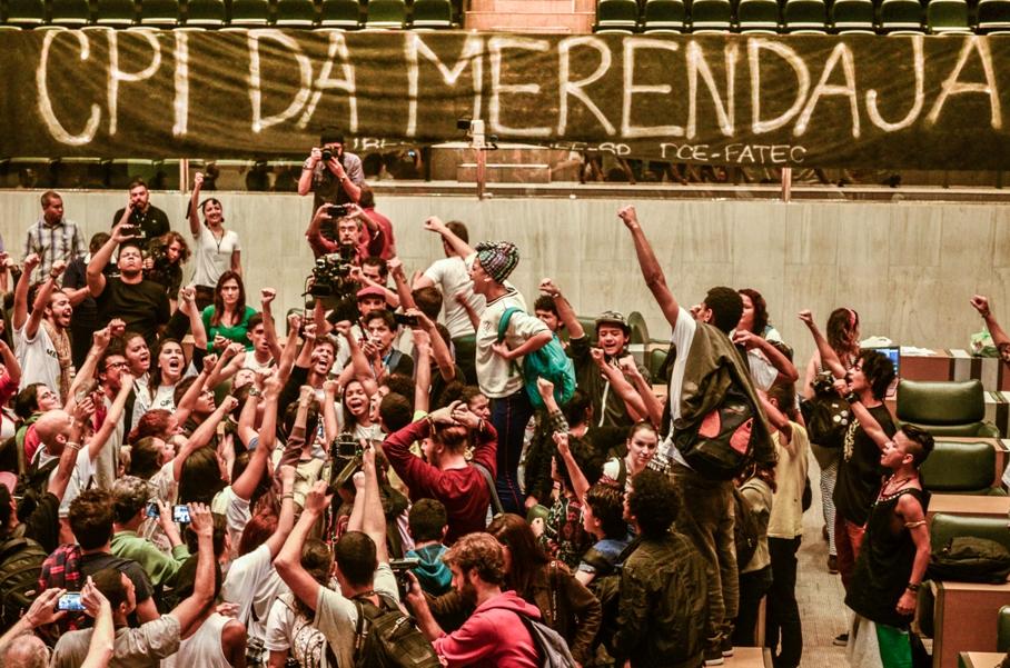 CPI da Merenda foi uma das principais vitórias dos secundaristas que acamparam na Assembleia Legislativa de São Paulo