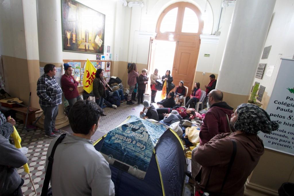 Ocupação do Colégio Julio de Castilhos foi uma das primeiras em Porto Alegre