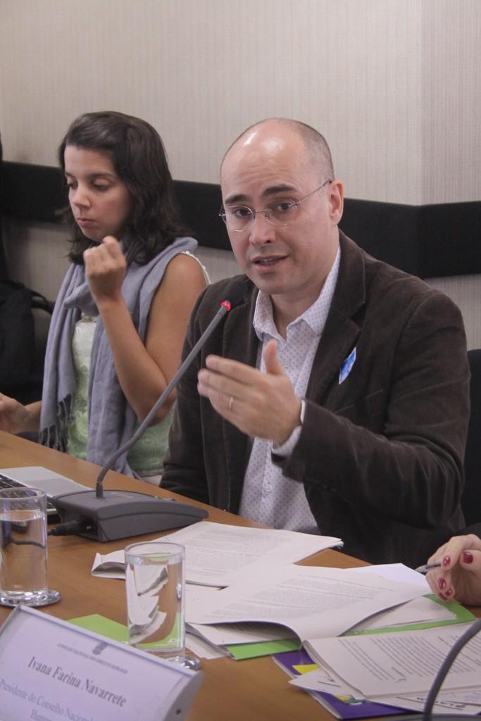 Cristhian Teófilo, da Associação Brasileira de Antropologia
