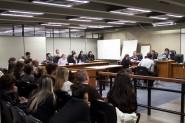 Audiência de instrução do processo foi acompanhada por amigos e familiares de Eduardo | Foto: Igor Sperotto
