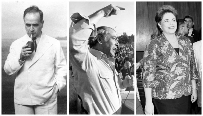 Dilma, Brizola e Getúlio