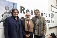 Pedro Serrano, Marcelo Lavenère e Lenio Streck | Foto: Igor Sperotto