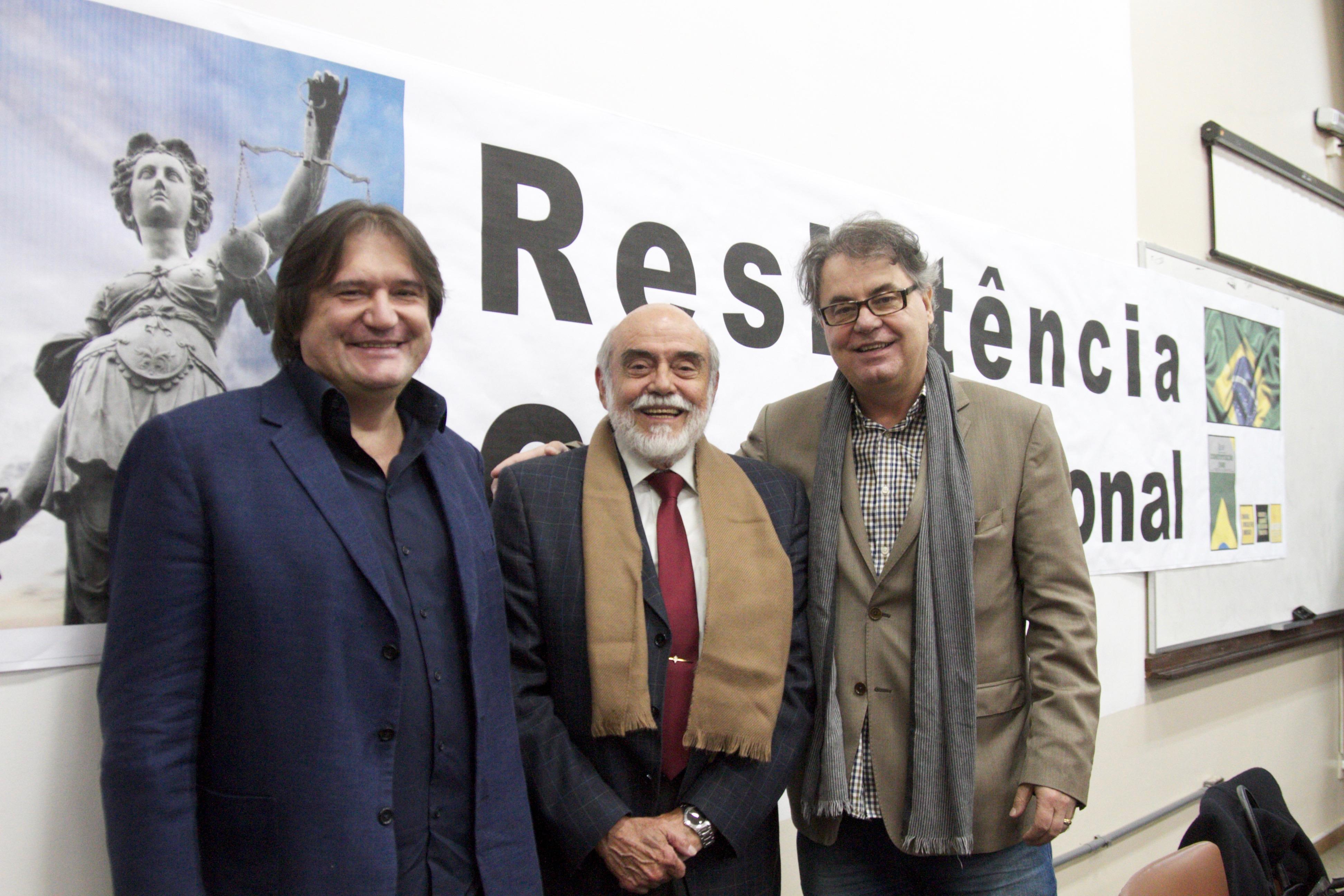 Pedro Serrano, Marcelo Lavenère e Lenio Streck