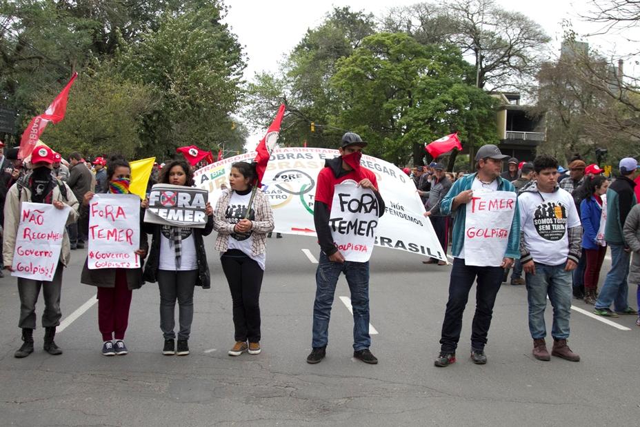 Grito dos Excluídos denuncia golpe e promete luta contra Temer