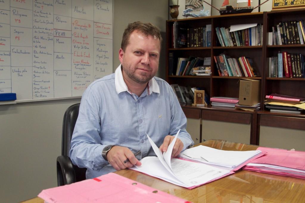 Sidinei Brzuska, juiz da Vara de Execuções Criminais da capital