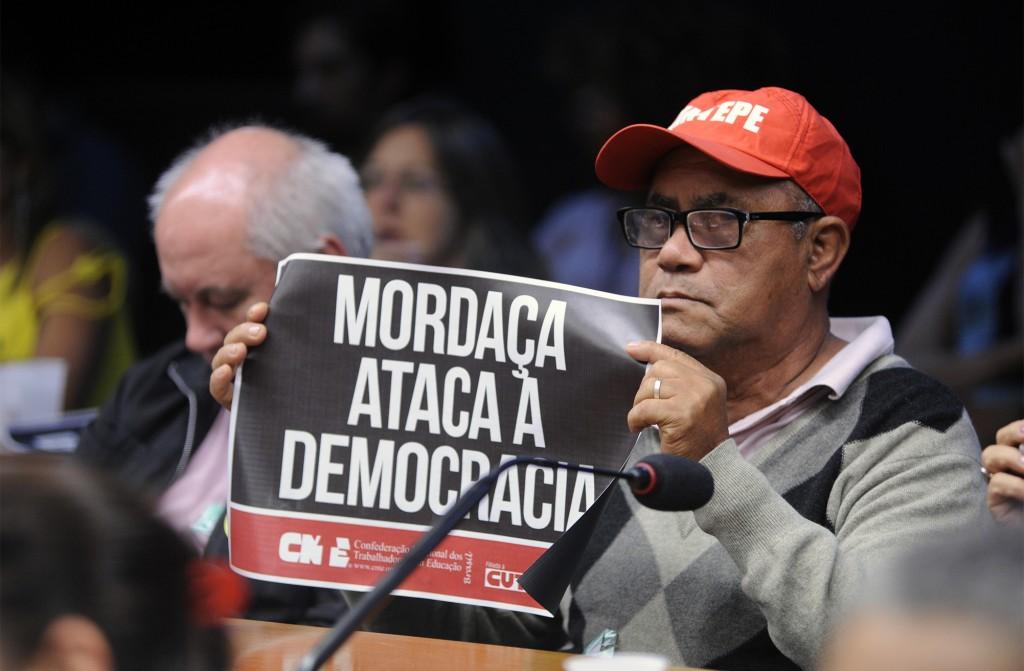 No dia 4 de outubro houve audiência pública na Câmara dos Deputados sobre Liberdade na Educação