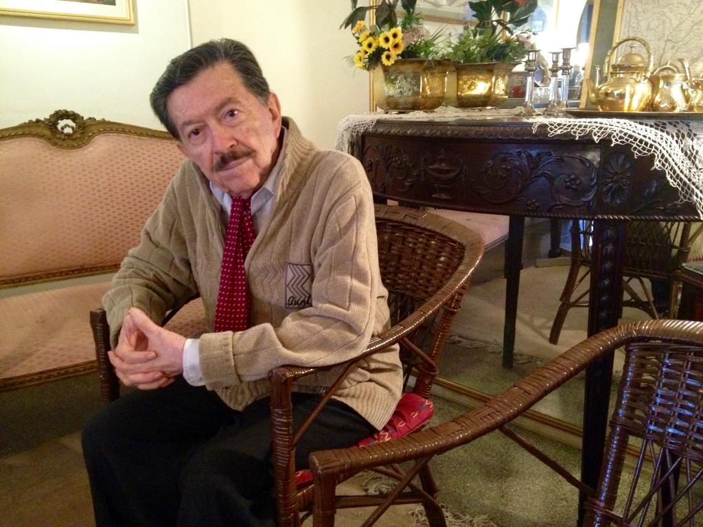 Martín Almada, hoje com 79 anos