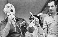 """ACM, sobre como elegeu o seu sucessor na Bahia em 1982: """"...com o chicote na mão e o dinheiro na outra"""", diz ao JB"""