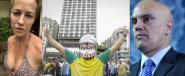 Qualquer um, até sem saber direito por que, pode virar alta autoridade de alguma coisa, se seus interesses convergirem com os interesses dos golpistas e a eles estiverem submetidos | Imagens: Reprodução/ Mídia Ninja/ Agência Brasil