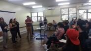 Local foi ocupado por estudantes no dia 21 de março | Foto: Clarinha Glock