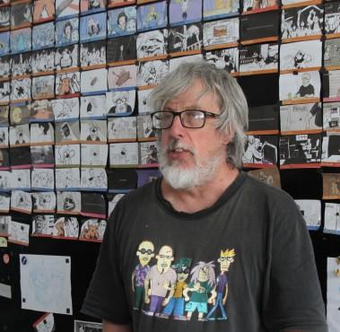 Otto Guerra, na ativa desde 1977, vai lançar A cidade dos piratas, com desenhos de Laerte Coutinho
