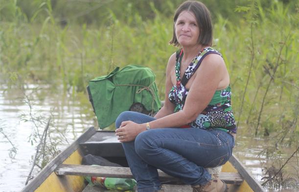 Nilce, que denunciava violações contra ribeirinhos na construção da usina de Jirau, em Porto Velho, foi assassinada em janeiro do ano passado