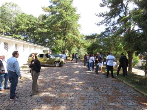 Movimento dos alunos reivindica espaços para aulas da universidade