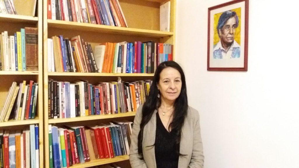 Ana Maria Careaga, 56 anos, que foi sequestrada pelos militares argentinos quando estava grávida, aos 16 anos de idade