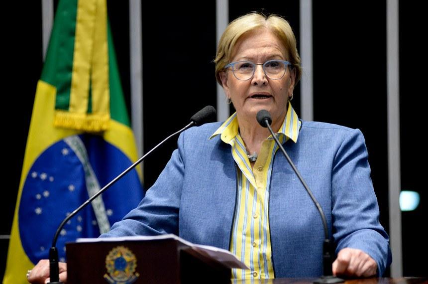 A senadora gaúcha Ana Amélia Lemos, do PP, entusiasta das reformas de Temer, saiu derrotada da votação
