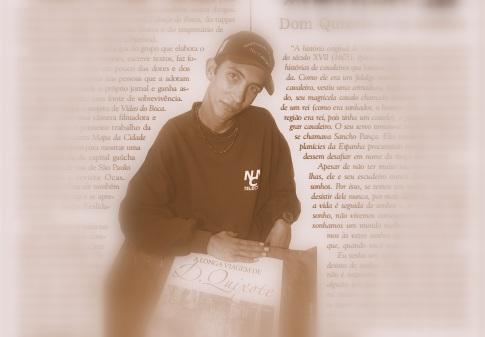 Morador de rua, raper e participante do Jornal Boca de Rua, Ceco deixou seu testemunho sem filtro
