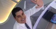 O ex-âncora da Rede Globo, Evaristo Costa, que vai embora para Portugal seria capaz de puxar um efeito manada? | Foto: Rede Globo/ Divulgação