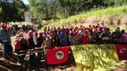 Fazenda Esmeralda, que pertence a amigo e ex-assessor de Temer, foi ocupada pela segunda vez no interior de São Paulo | Foto: TV TEM/ Globo/ Reprodução