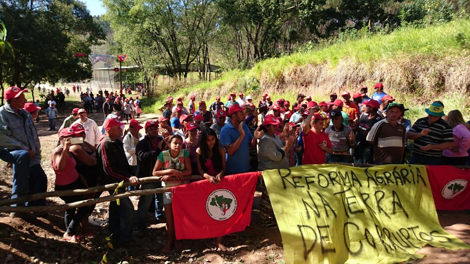 Fazenda Esmeralda, que pertence a amigo e ex-assessor de Temer, foi ocupada pela segunda vez no interior de São Paulo