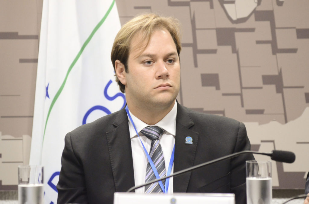 Gabriel Gualano de Godoy, oficial da ONU para Refugiados (Acnur)
