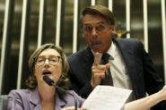 Em 2014 Jair Bolsonaro disse que a deputada não merecia ser estuprada por ser muito feia | Marcelo Camargo/Agência Brasil