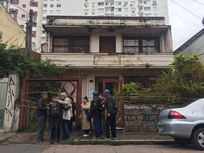 Sede da ONG desde 1991, sobrado na rua Luiz Afonso, na Cidade Baixa, sofreu intervenção judicial no dia 11