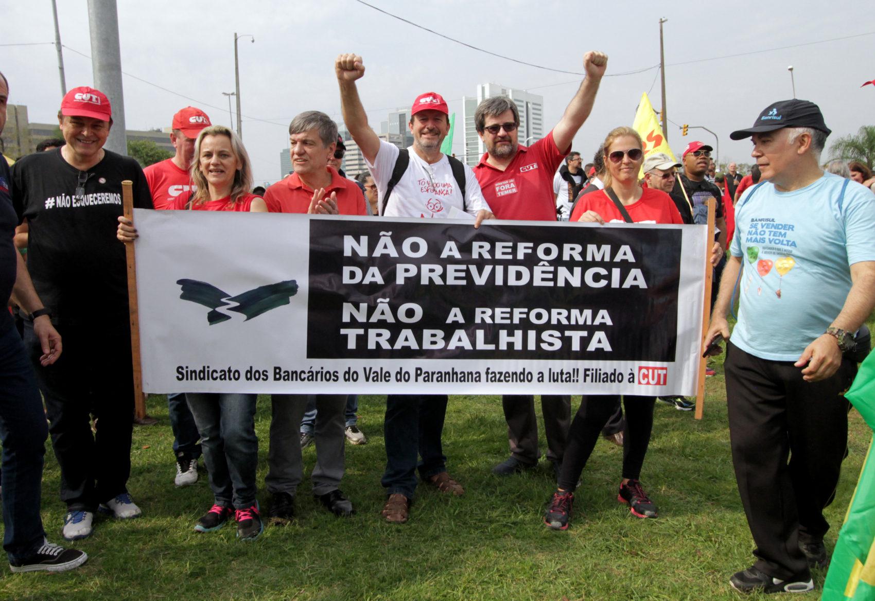 23º Grito dos Excluídos em Porto Alegre