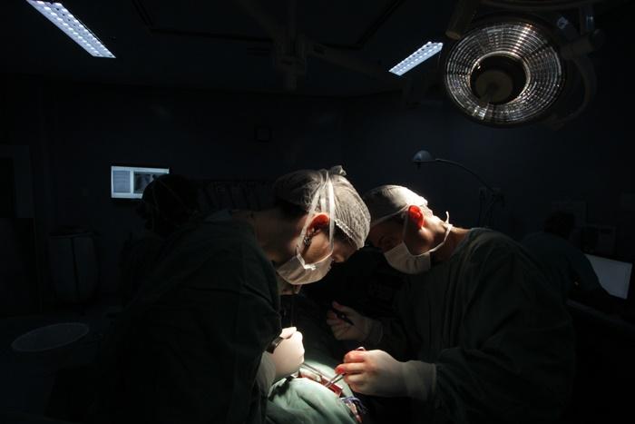 Uma cirurgia que salvou duas vidas
