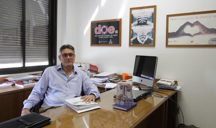 Valter Garcia, coordenador de transplantes da Santa Casa de Porto Alegre