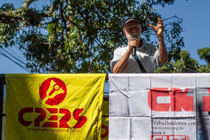 Enio Manica, diretor do Cpers/Sindicato