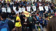 Com salários parcelados, magistério estadual está em greve desde o dia 5 de setembro | Foto: Cpers-Sindicato/ Divulgação