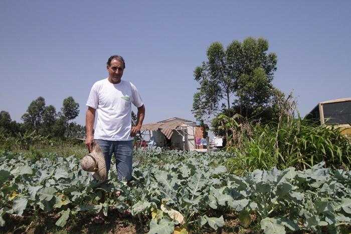 O agricultor Joice dos Santos, histórico do MST, viu os recursos do Programa de Aquisição de Alimentos (PAA), que repassa alimentos da lavoura para famílias pobres, despencar de R$ 16 milhões para R$ 1 milhão em 2017