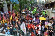 Paralisação do funcionalismo municipal de Porto Alegre durou 40 dias. Categoria mantém estado de greve | Foto: Simpa/ Divulgação